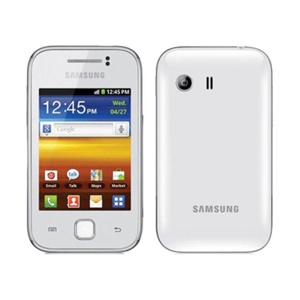 SAMSUNG Galaxy Y - White